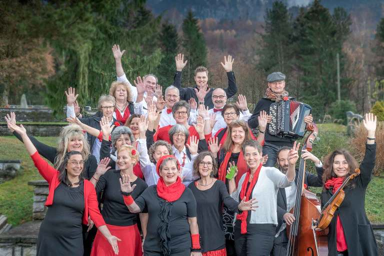 Notabene Choir in Bönigen Church.