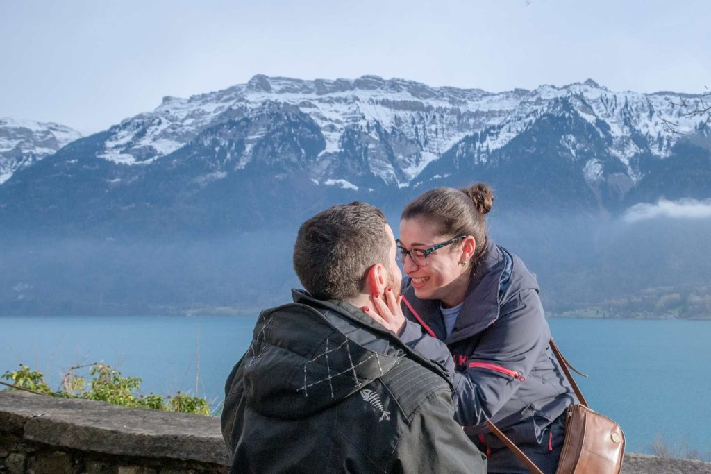 Surprise engagement in Ringgenberg