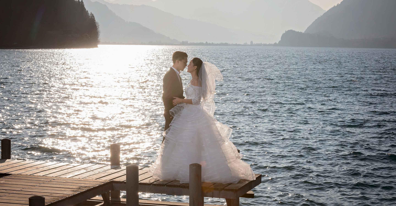 Pre wedding photo shoot in Interlaken