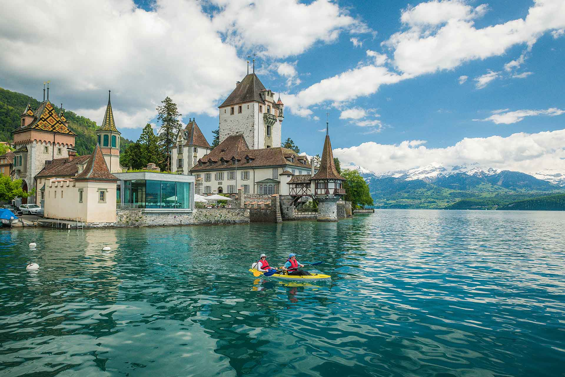 Photographer Oberhofen Castle