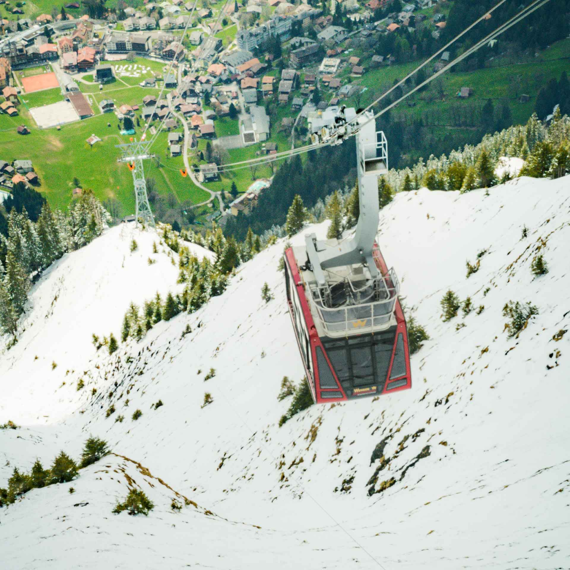 Wengen cable car
