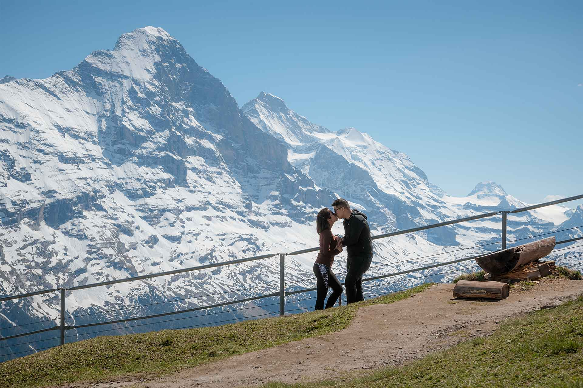 Engagement Proposal Grindelwald First