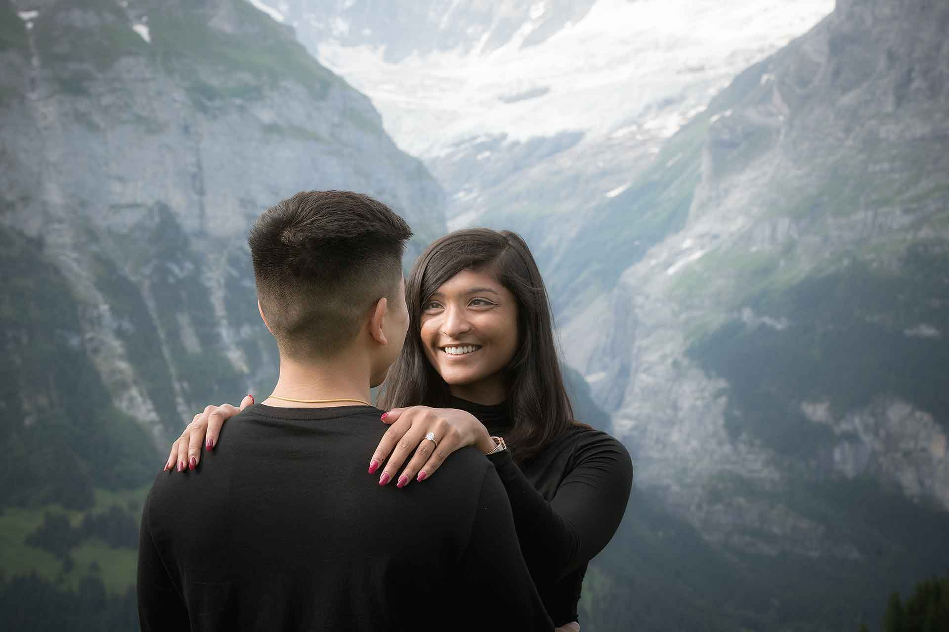 how he asked in the swiss alps