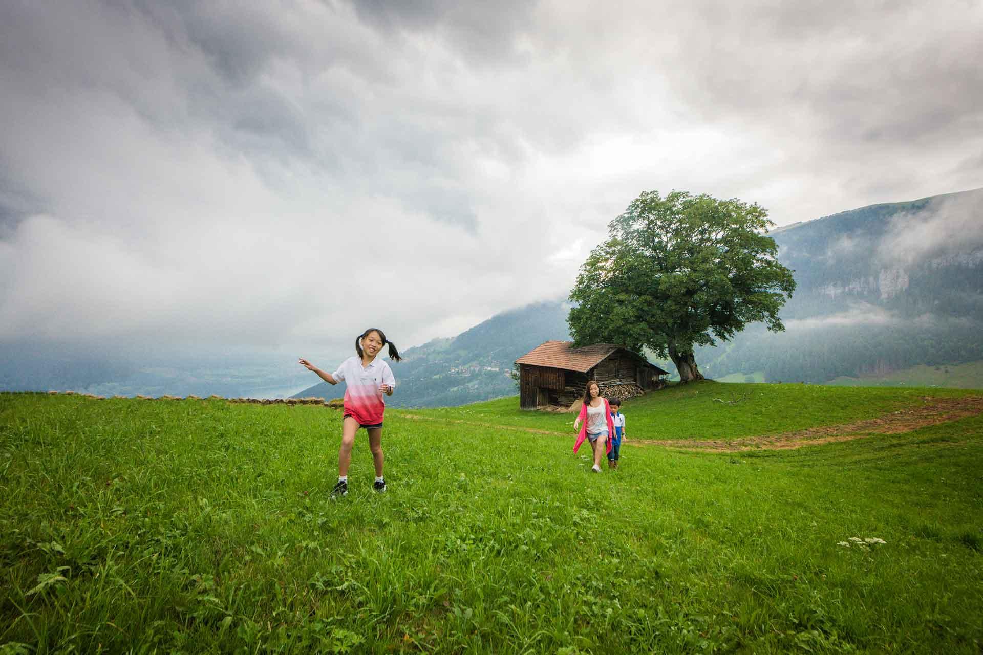 Family photo shoot photographer in Interlaken
