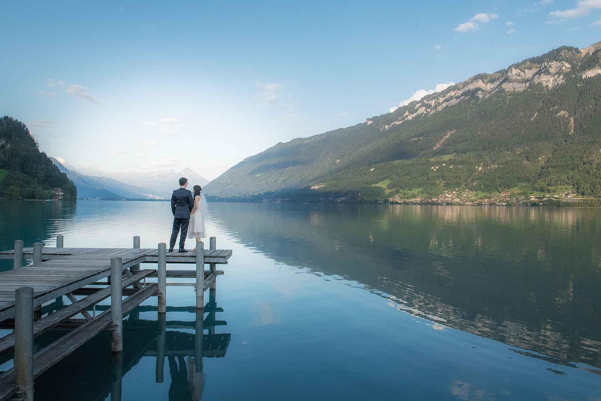 Pre Wedding Photo Shoot in Swiss Alps