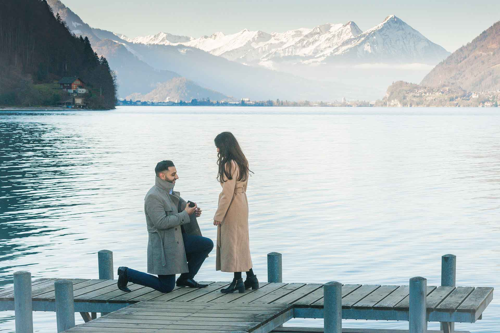 Surprise Engagement in Interlaken, Switzerland