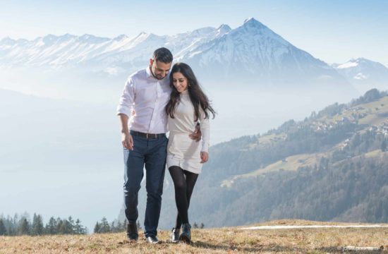 Couples photo shoot near Interlaken