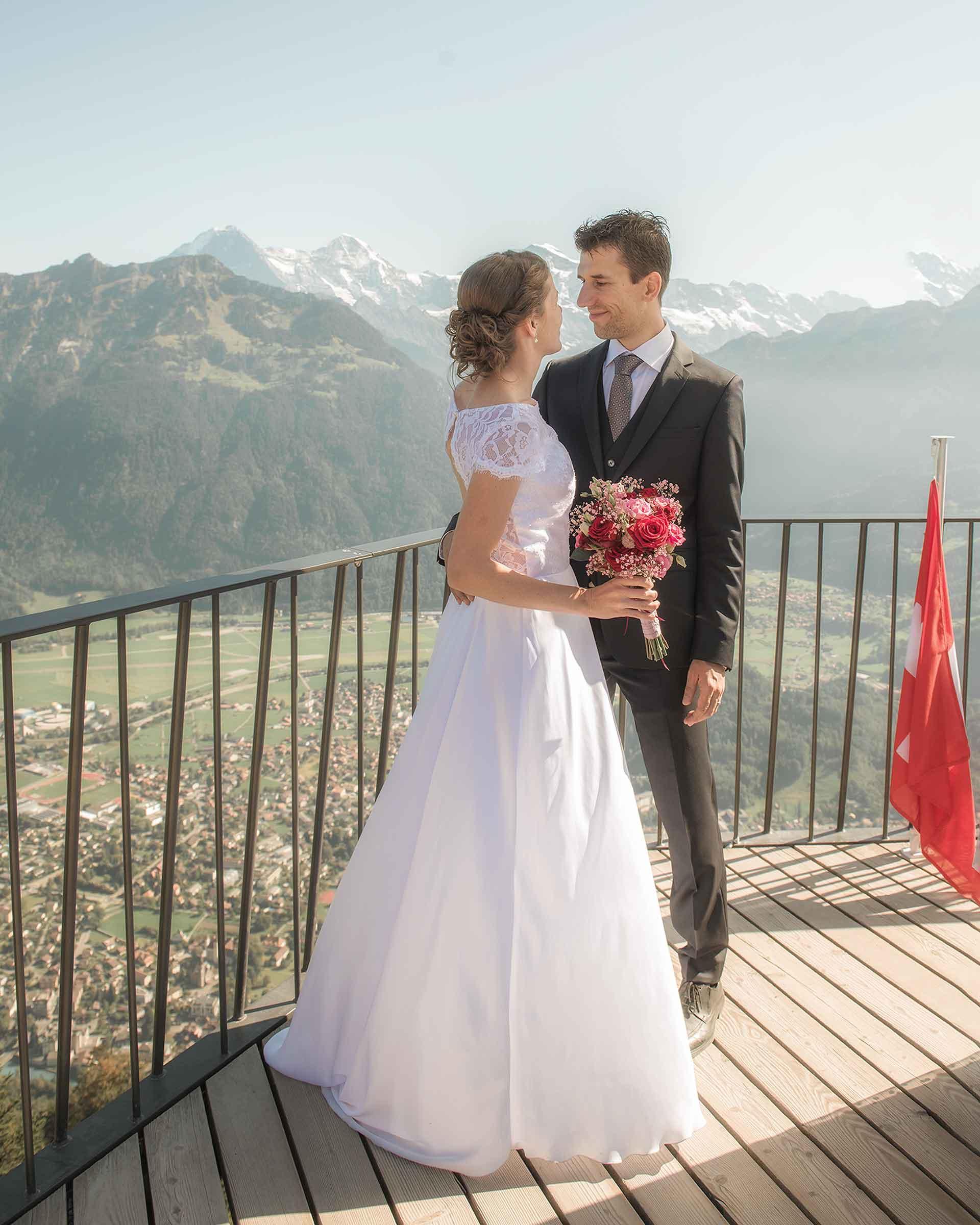 Civil wedding Harder Kulm Interlaken