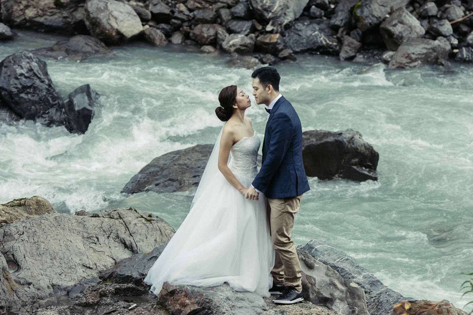 Pre wedding shoot near Interlaken, Switzerland