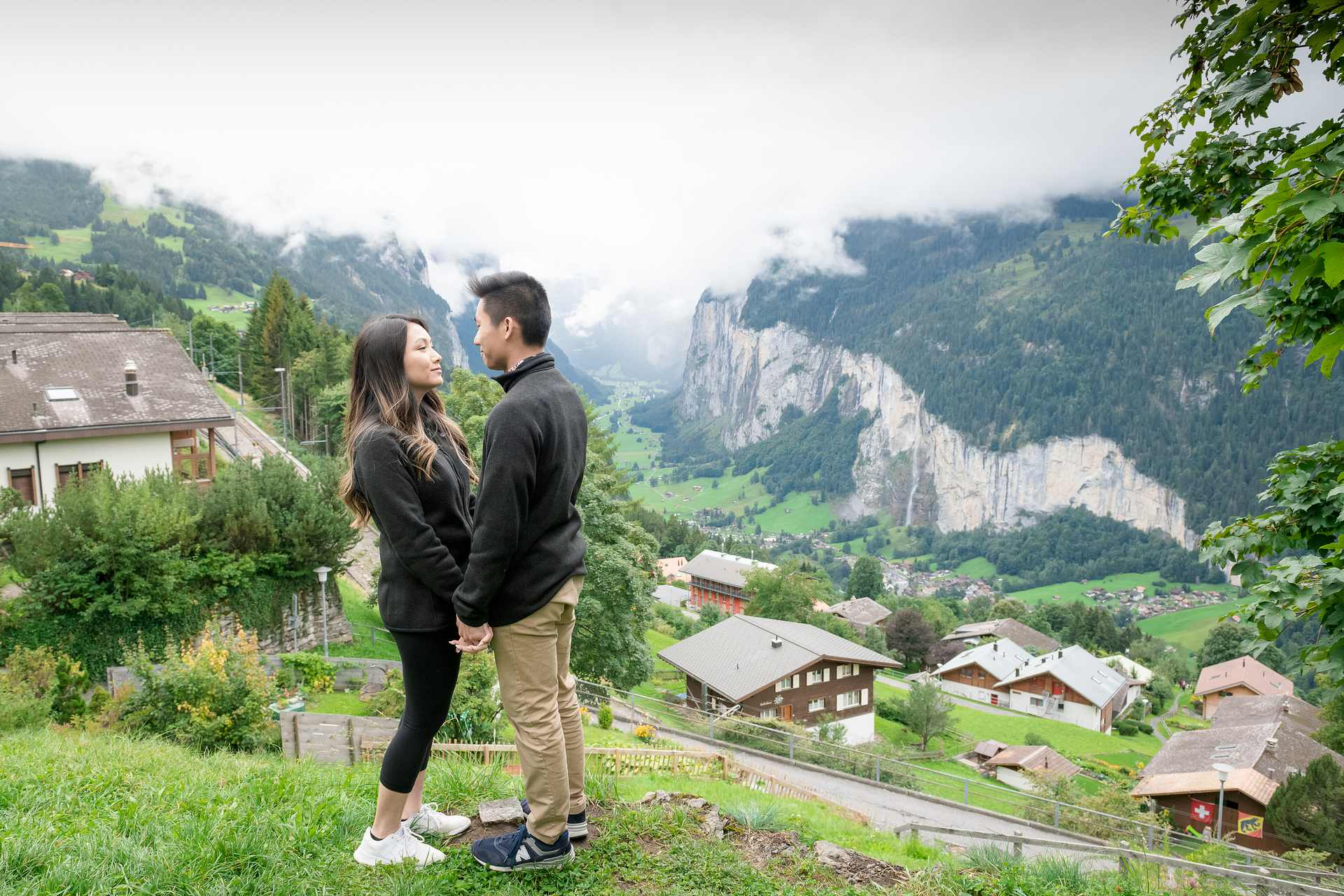 Surprise Engagement in Interlaken, Switzerland