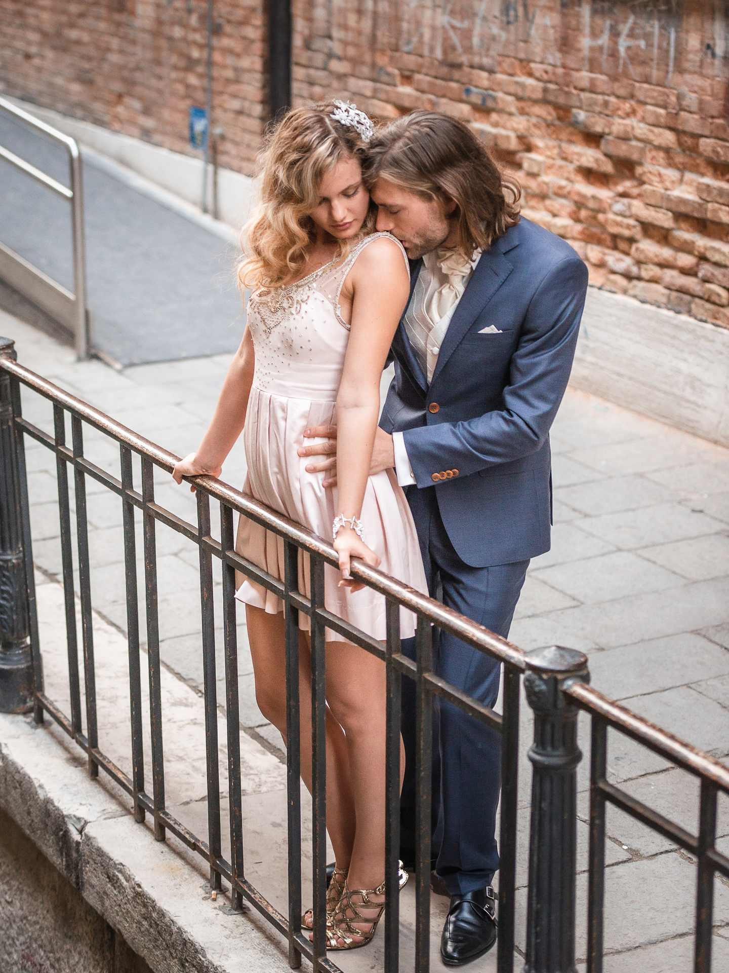 Italian Couple in Venice