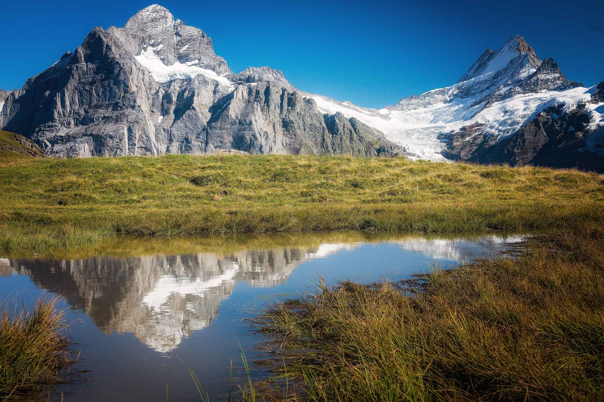 Photographer in Grindelwald,