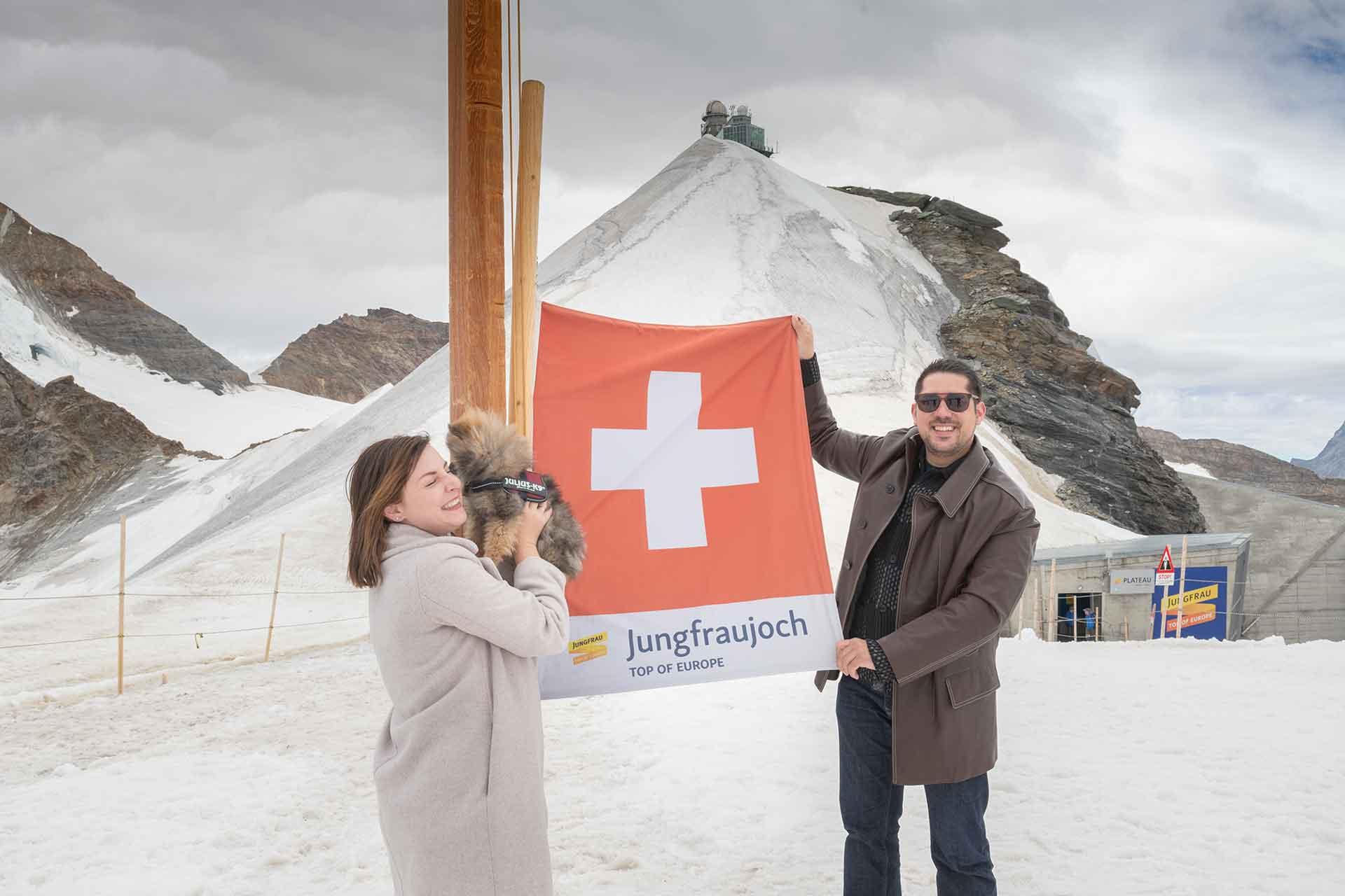 Photographer Jungfraujoch, Grindelwald and Wengen