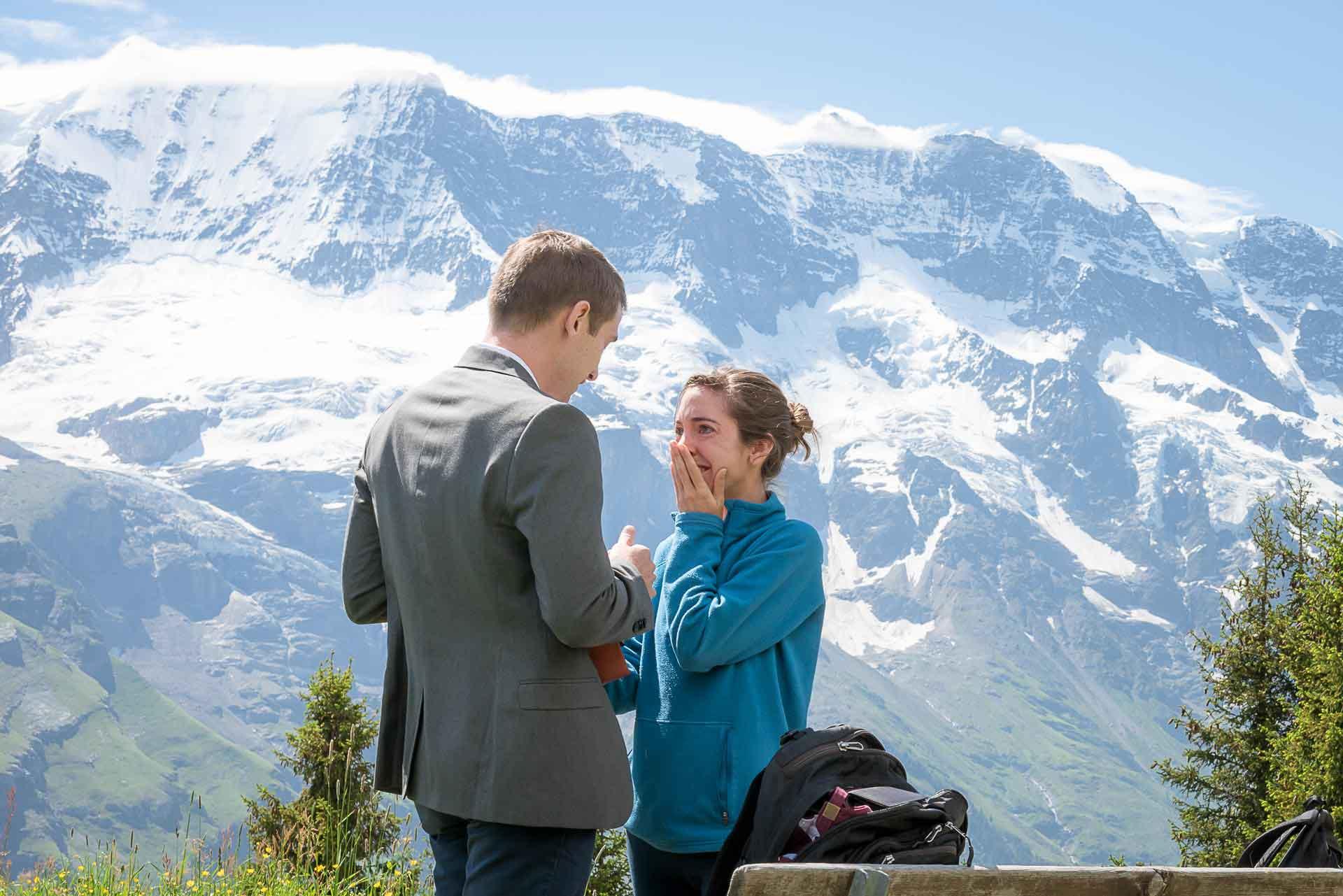 Engagement in Murren