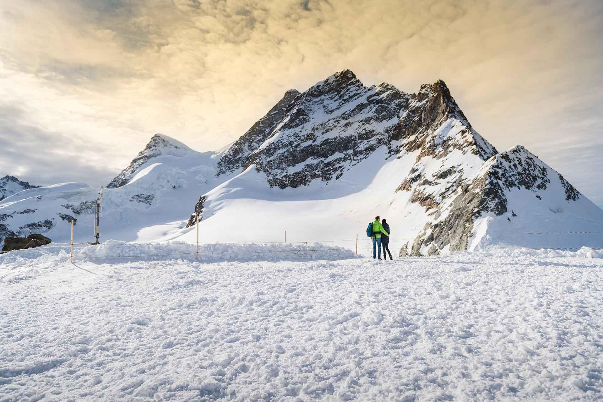 Photographer Jungfraujoch in the Swiss Alps