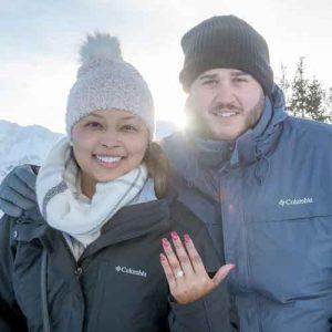 Engagement in Murren, Switzerland