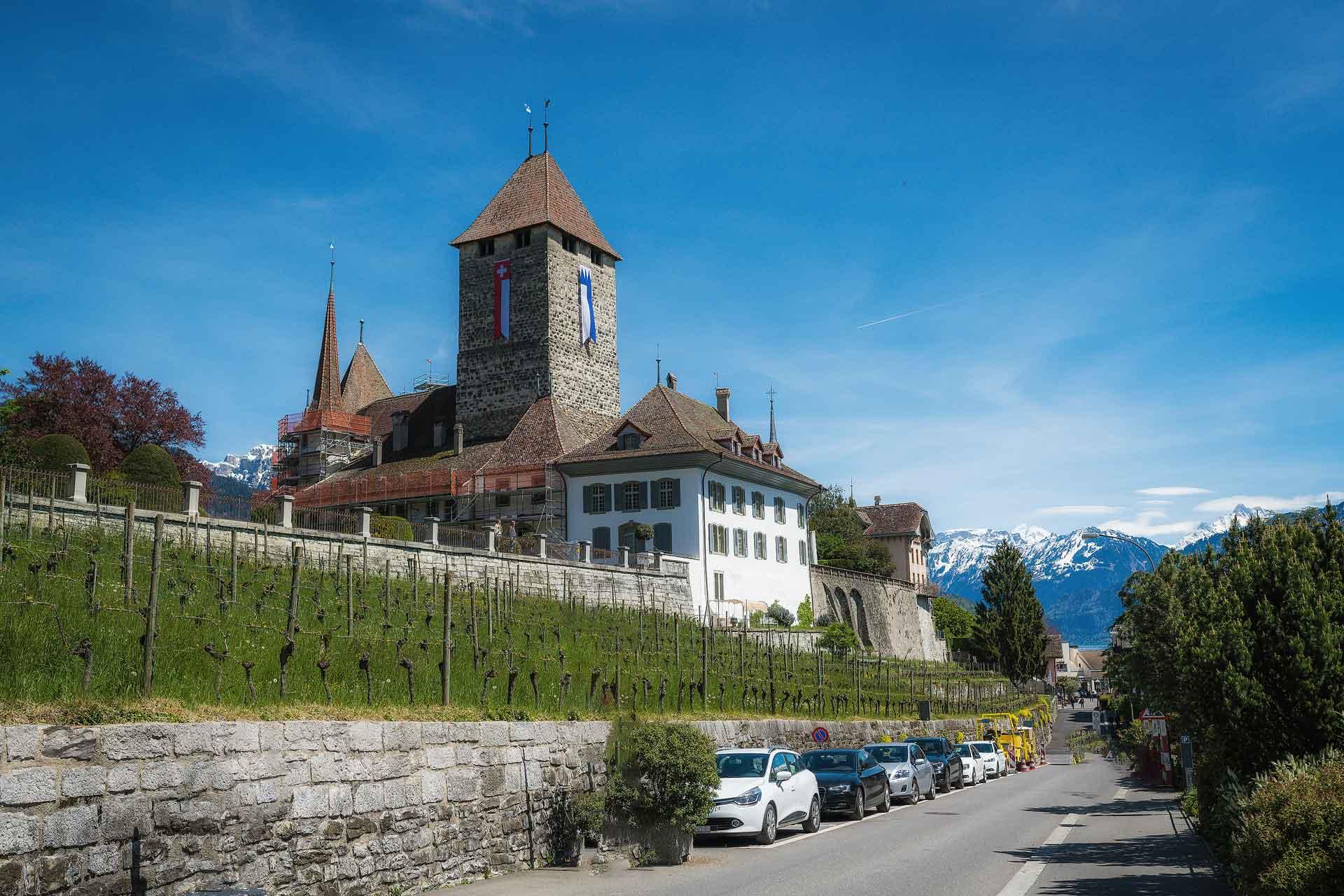 Photographer Schloss Spiez Castle