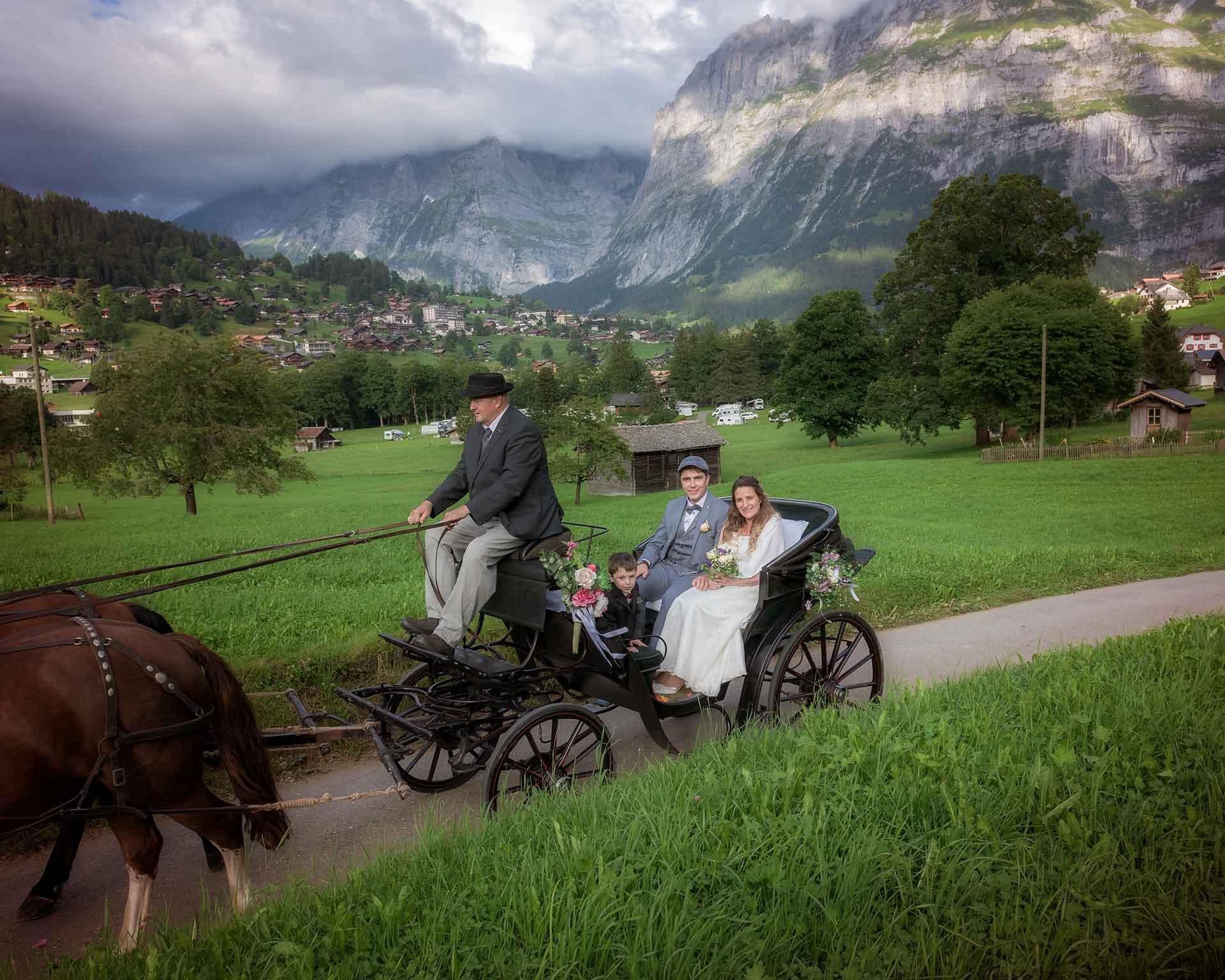 Civil Wedding in Grand Hotel Giessbach Switzerland